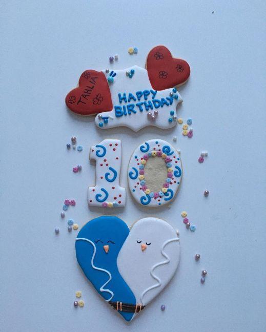 10th-birthday-cookies